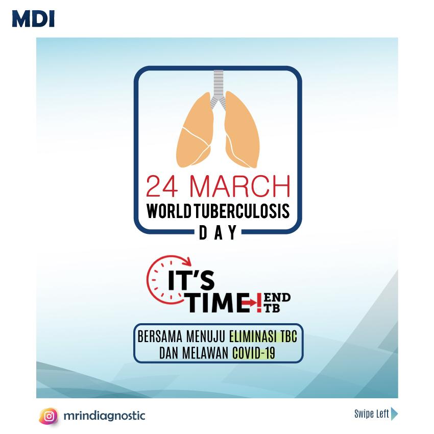 Hari Tuberkulosis Sedunia MDI